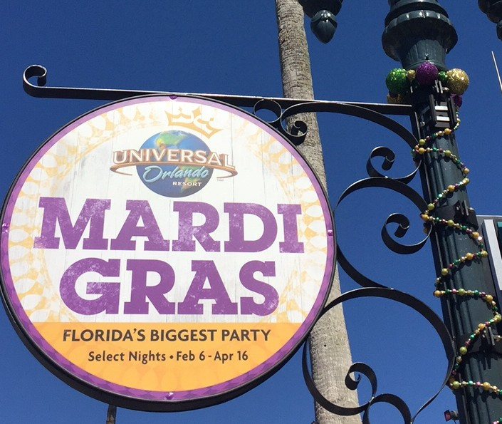 Orlando Transportation to Universal's Mardi Gras